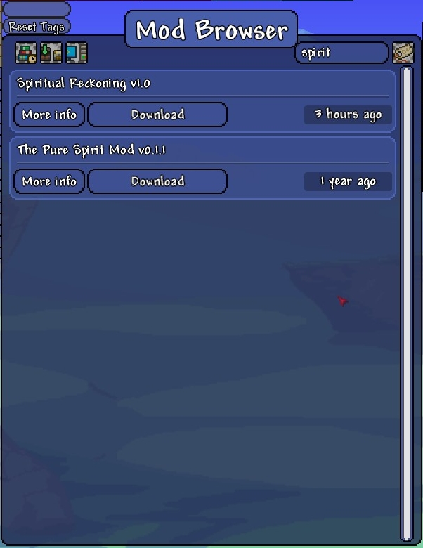Spirit mod download | Official Terraria Mods Wiki  2019-03-06