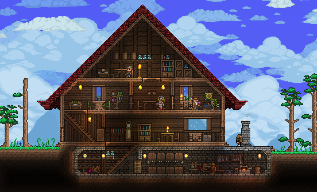 Pc Ballin Houses By Eiv Page 9 Terraria Community