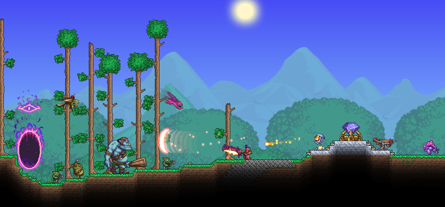Terraria Best Old Ones Army Build