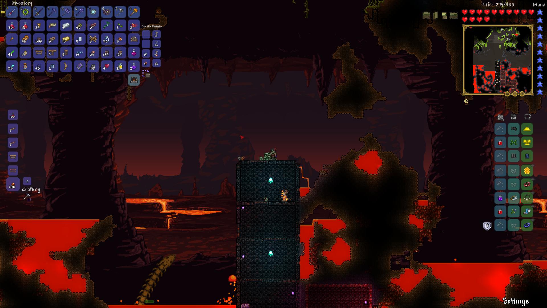 Make Hell A Living Hell - Underworld Buff | Terraria