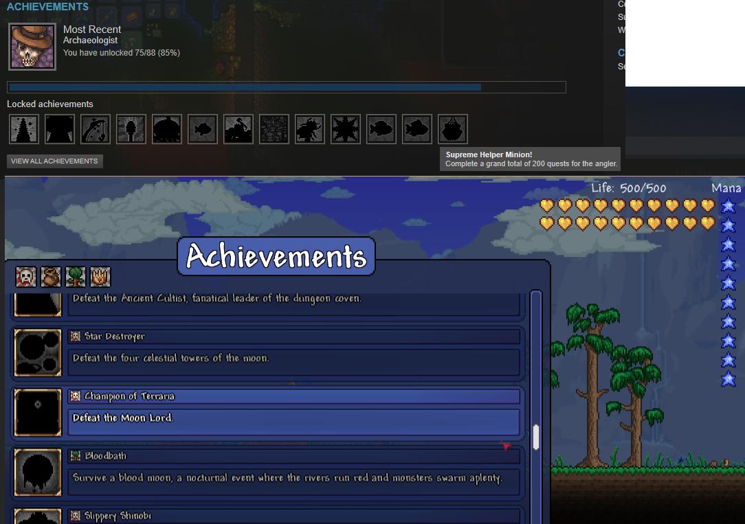 pc r i p my achievements but unrelated terraria terraria achievements png