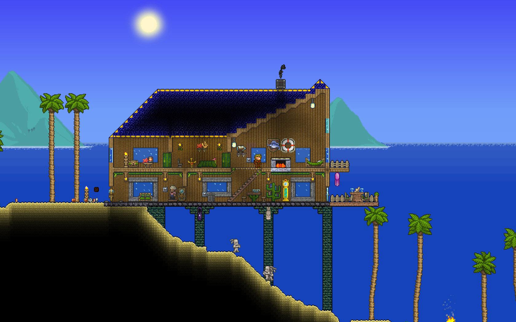 Terraria Beach Houses