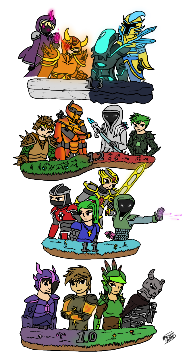 Terraria Evolution of Armors.png