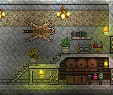 Terraria Hall And Cellar Jpg Amp Tmodloader Chadu0027s