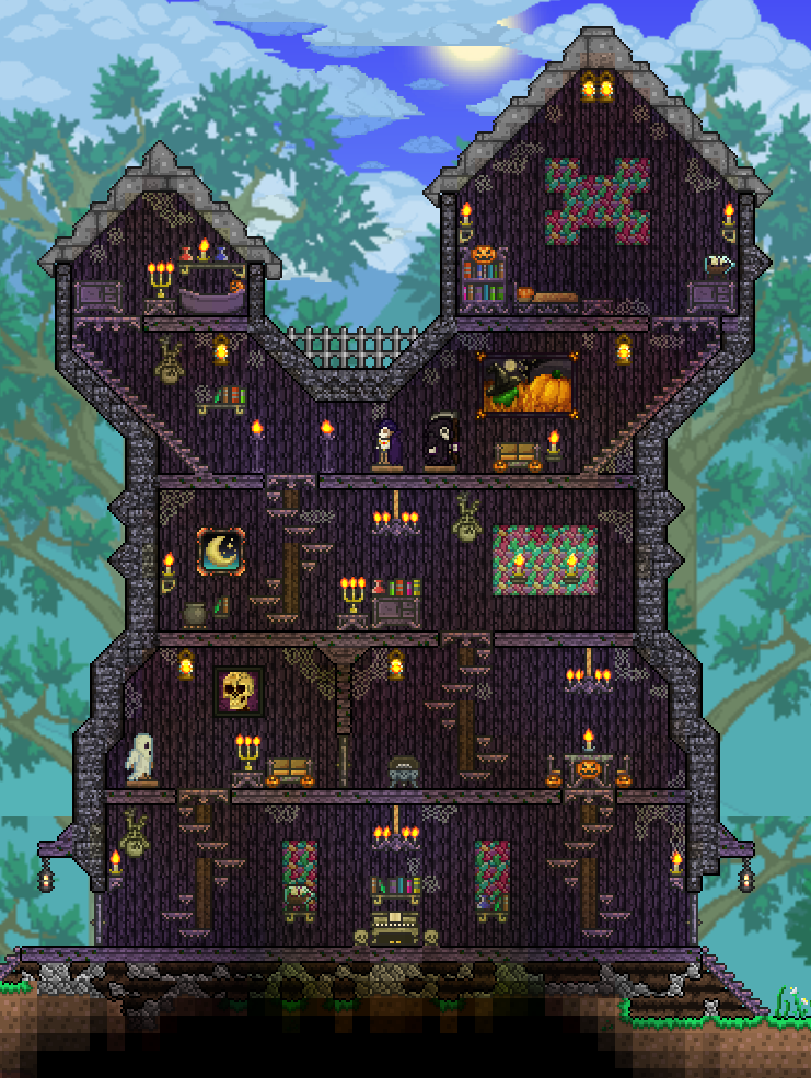 how to build a good house in terraria