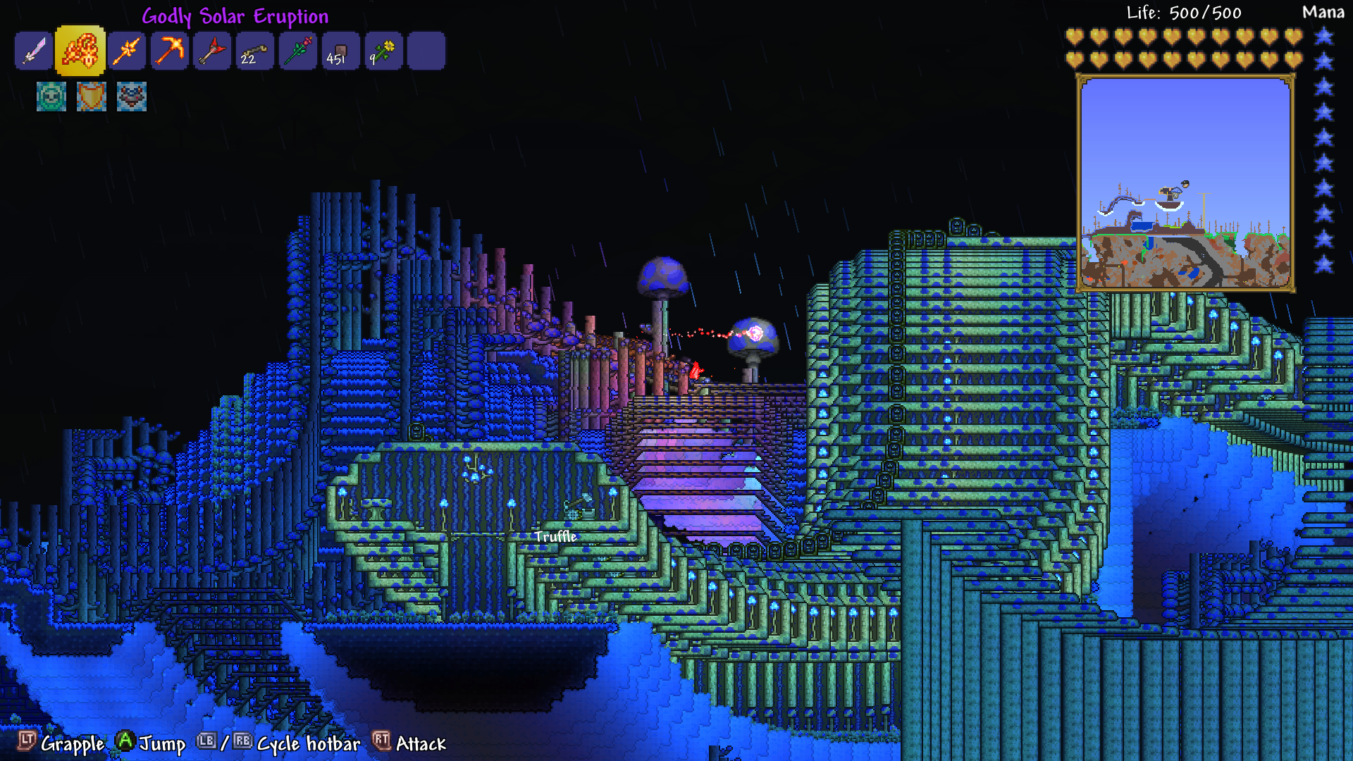 Xbox One - Intense Graphical Glitch | Terraria Community Forums