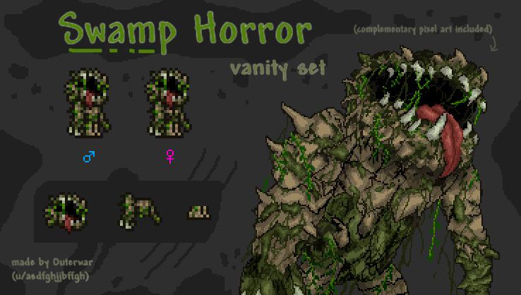 Terraria Vanity Contest Entry - Swamp Horror.jpg
