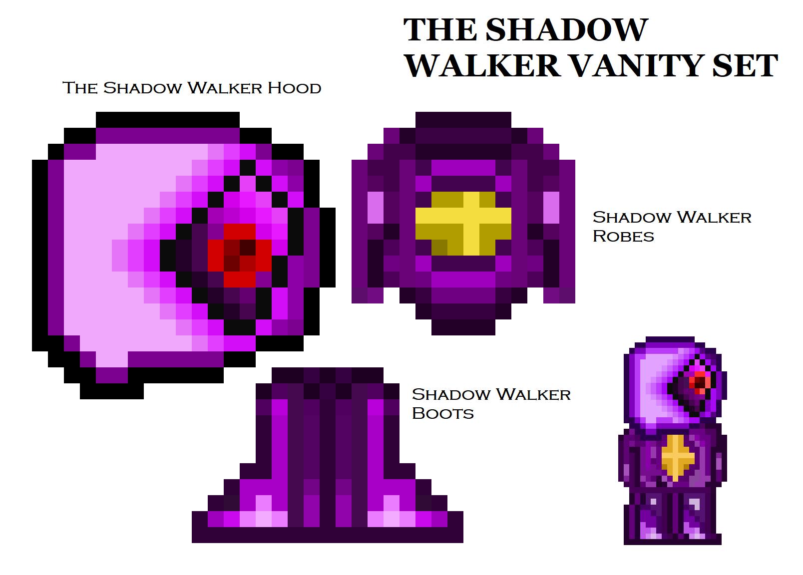 Terraria Vanity Set Idea - The Shadow Walker Set.png