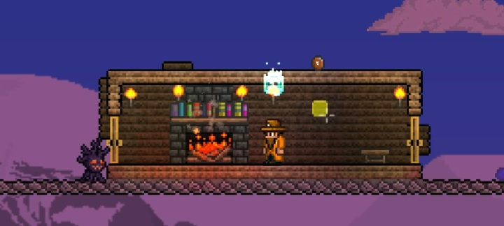 Quick and Easy Fireplaces in your Console World | Terraria