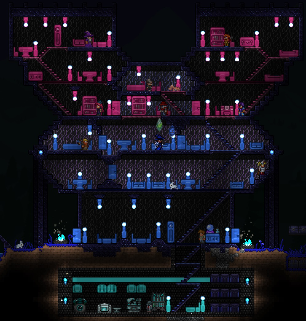 No Wood Boxes A Building Guide Page 16 Terraria