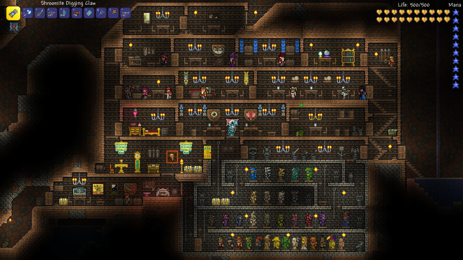 Terraria Houses Besides Npc House On Awesome
