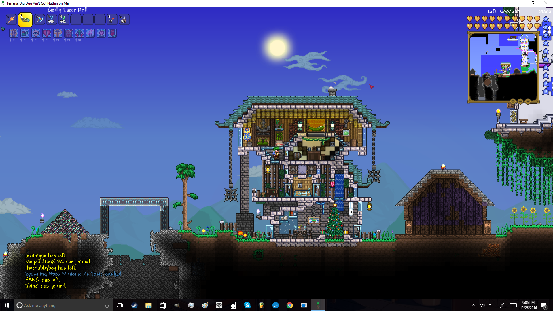 A house i made for myself please give any constructive criticism youve got i can only improve also thanks for this guide helping me out a bit