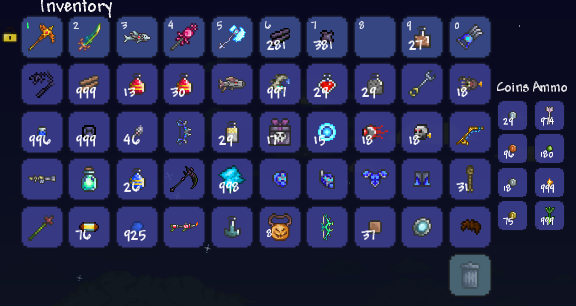 Name 1 habit that you simply cant shake in Terraria  | Page