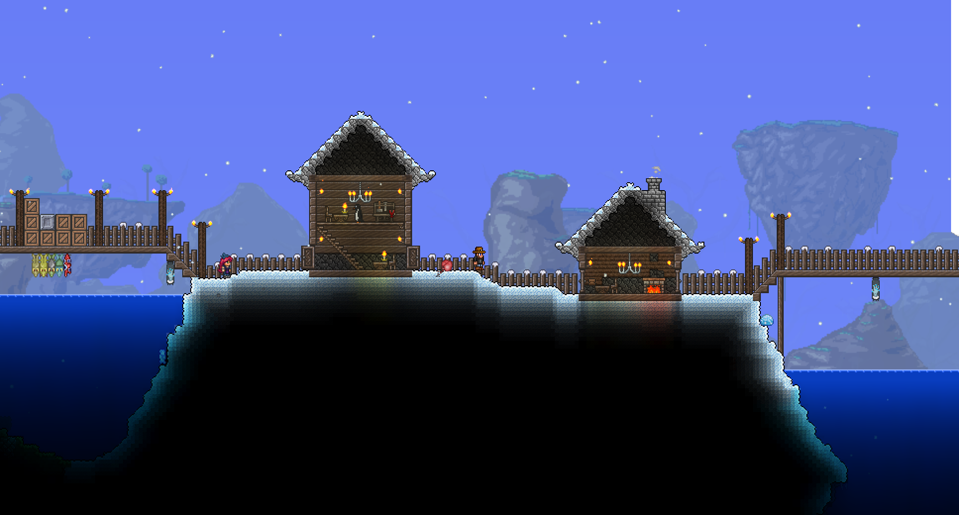 Pc What Is Wrong With These Houses Terraria Community