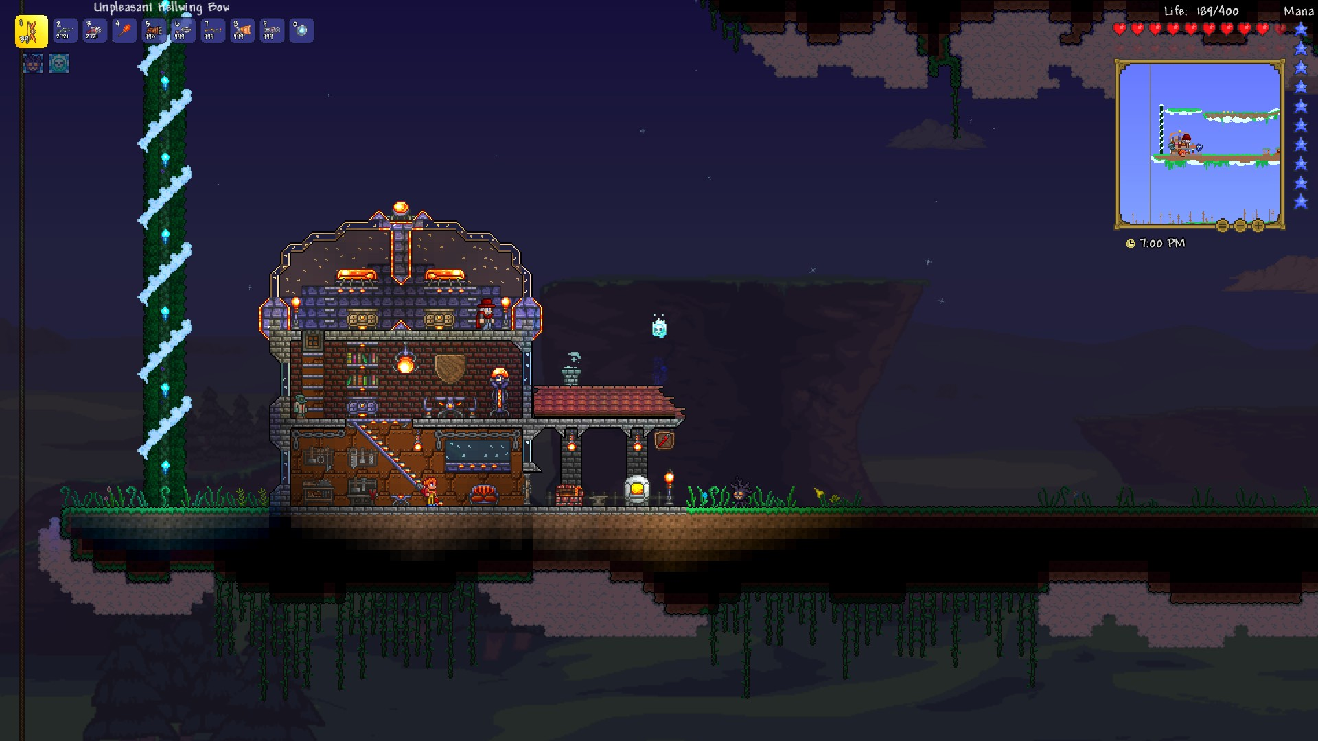 how to get a terraria world back pc