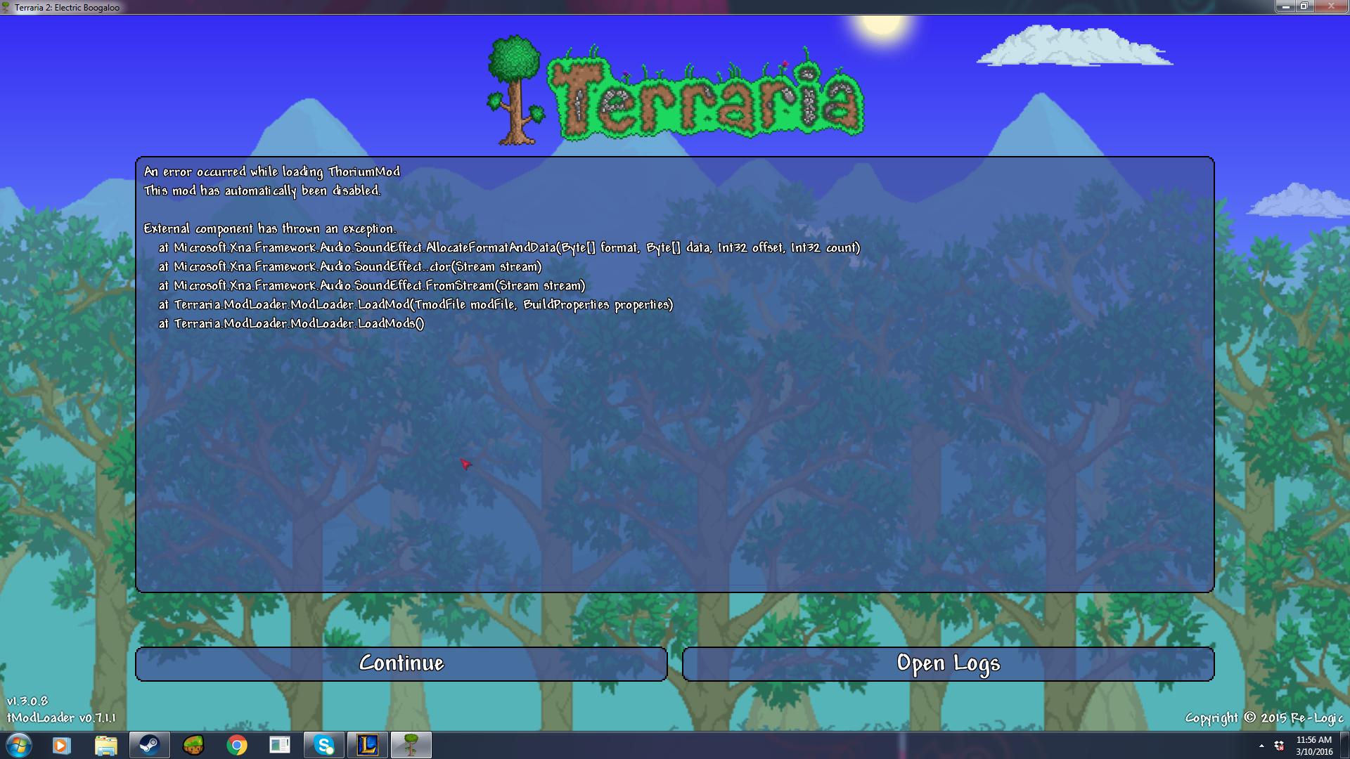 tModLoader - The Thorium Mod   Page 39   Terraria Community