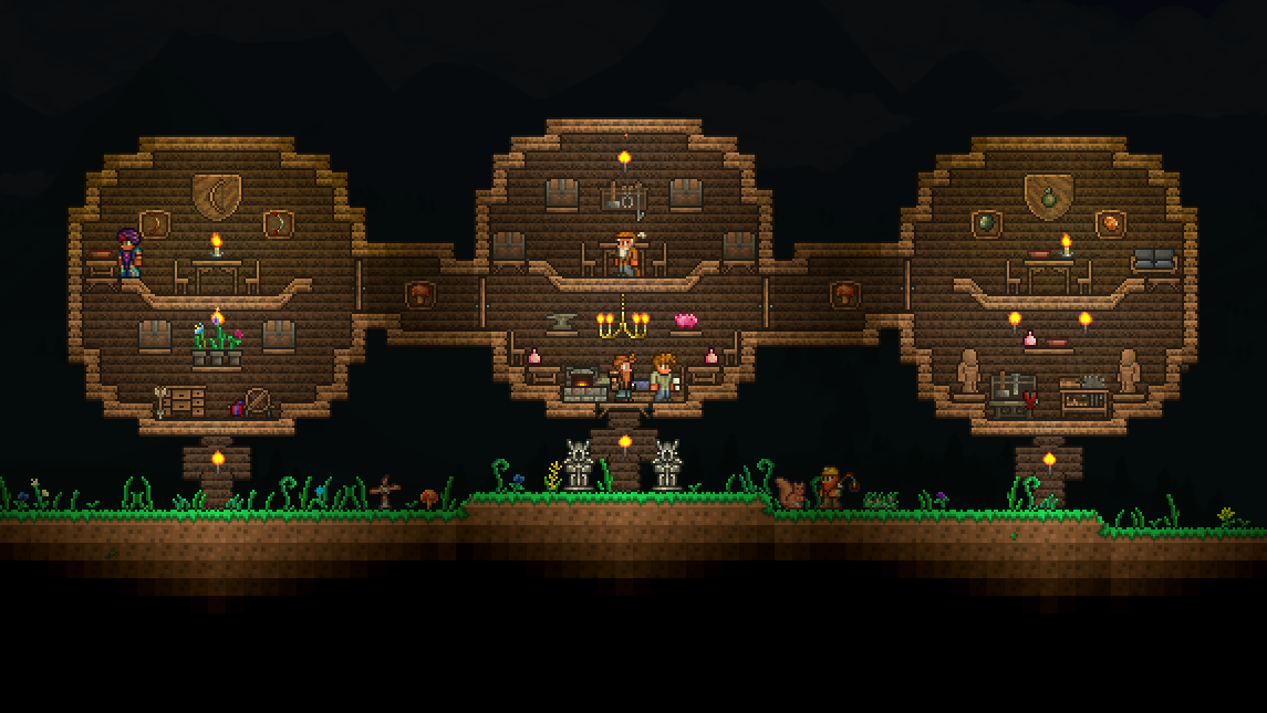 Pc Making Cool Houses Tips And Tricks Terraria
